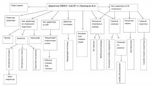 Схема структура СШ